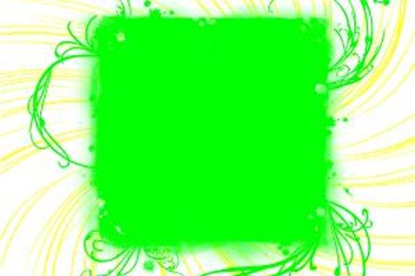 Pintura fluorescente.