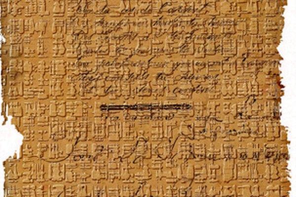 Los documentos primarios no tienen que ser antiguos.