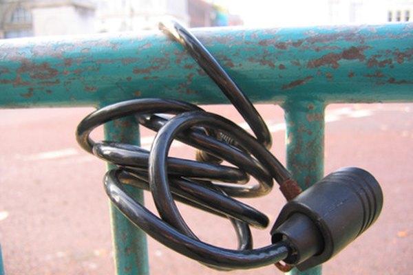 Las cerraduras de bicicleta intercambiables pueden hacer que sea más fácil el recordar la combinación.