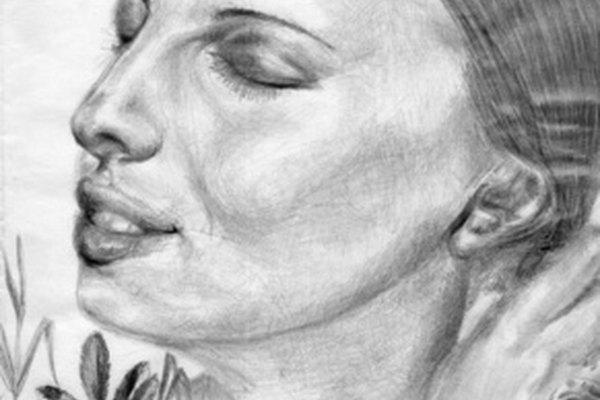Sombrear los rasgos del rostro resalta los detalles del retrato.