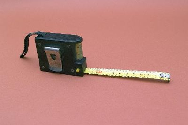 Las cintas métricas tienen diferentes marcas que son útiles para diferentes cosas.