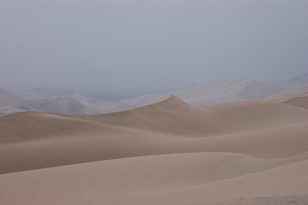 Los climas secos pueden experimentar lluvias.