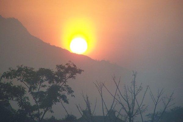 El sol eventualmente se convertirá en una gigante roja y luego en una enana blanca.