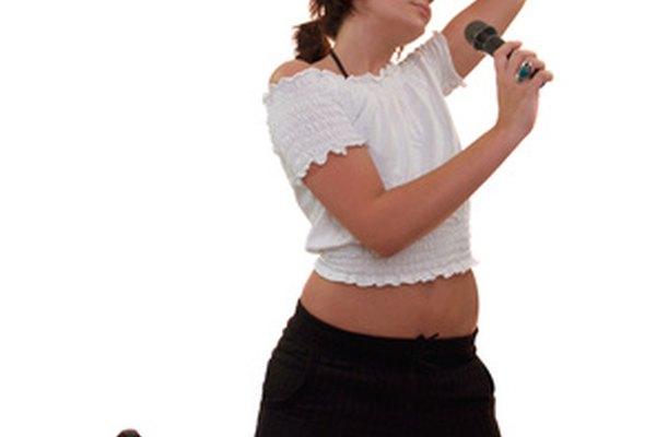 El cantante es con frecuencia la figura principal de la música pop.