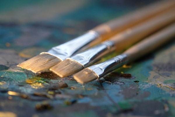 Las pinturas al óleo capturan la belleza del agua.