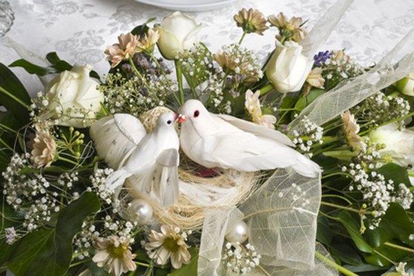 La paloma está destinada a ser un símbolo de la paz en casa de la pareja.