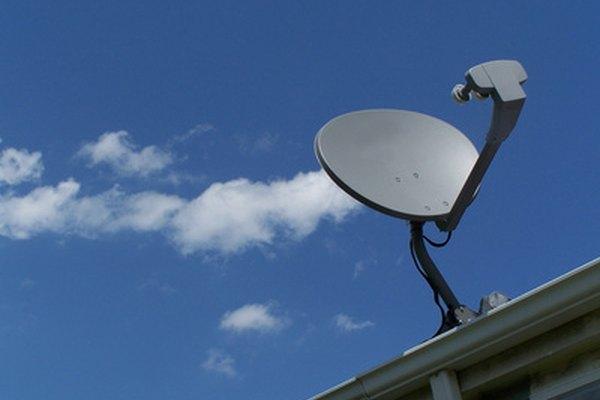 El viento y la lluvia pueden afectar la señal de tu satélite.