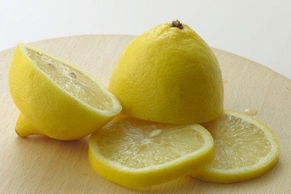 Un limón partido.