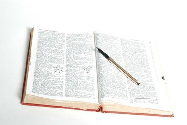 Antes de acudir al diccionario, puedes estimar el significado de una palabra nueva.