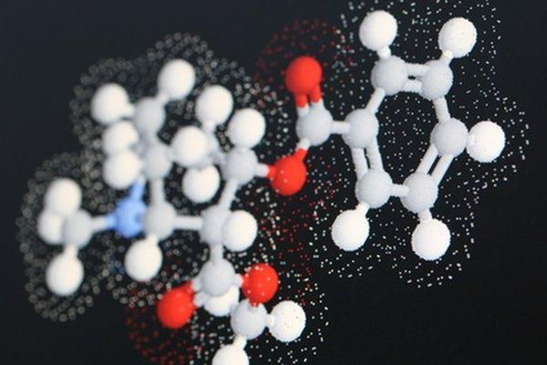 Modelos de moléculas.