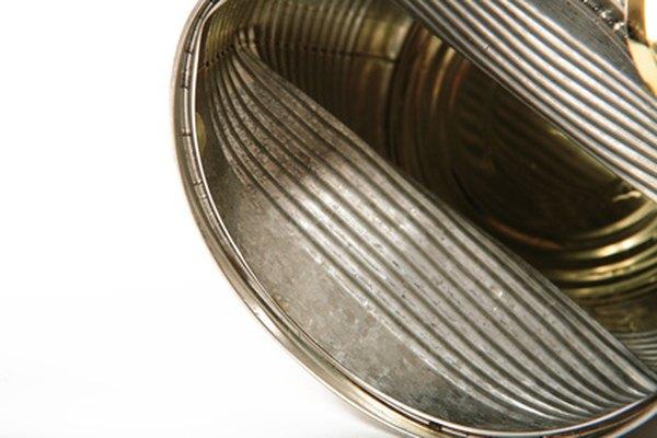 Las latas de acero son más recicladas que las de aluminio.