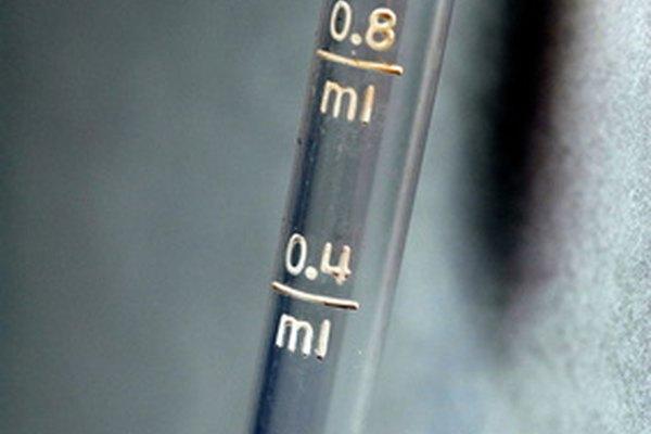 Las pipetas son aparatos que sorben y mantienen líquidos.