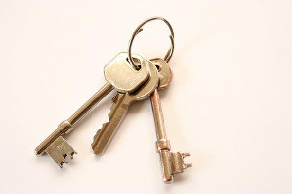 El valor de una llave antigua depende de muchos factores.