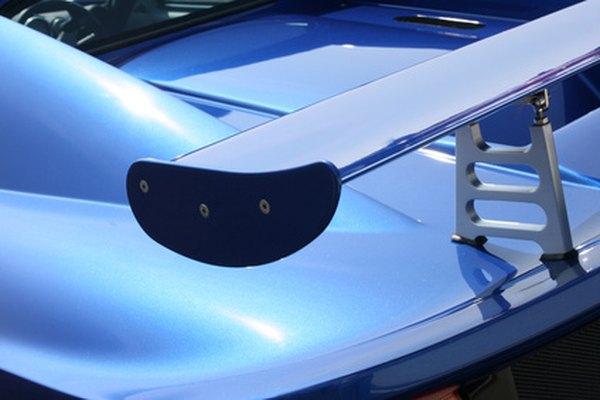 Hay muchos diseños y formas de alerones para instalar en tu auto.