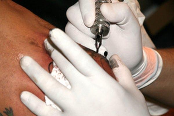 Tatuaje neo-tradicional.