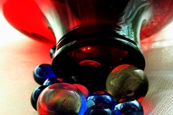 El vidrio es un material comúnmente utilizado para hacer pipas.