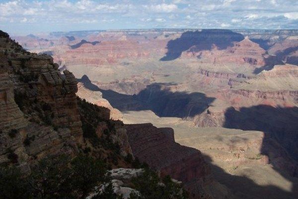 Capas de roca en el Gran Cañón.
