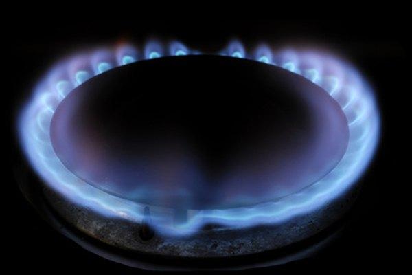 Tanto si se trata de una estufa o de un calentador, el gas debe quemarse con un color azul.