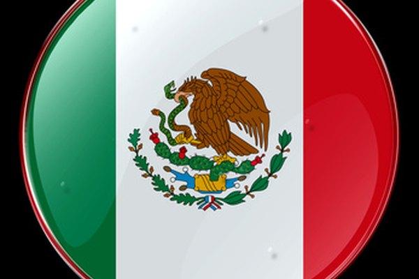 Los colores de la bandera mexicana son el verde, el blanco y el rojo.