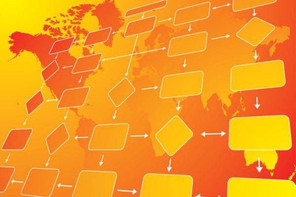 Las compañías internacionales pueden tener diferentes estructuras organizacionales en cada región geográfica.