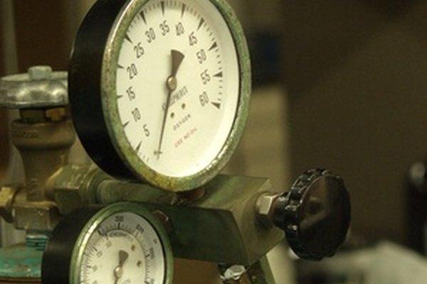 Medidores de presión estándar.