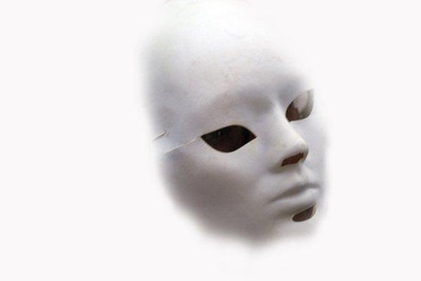 Una máscara de teatro.