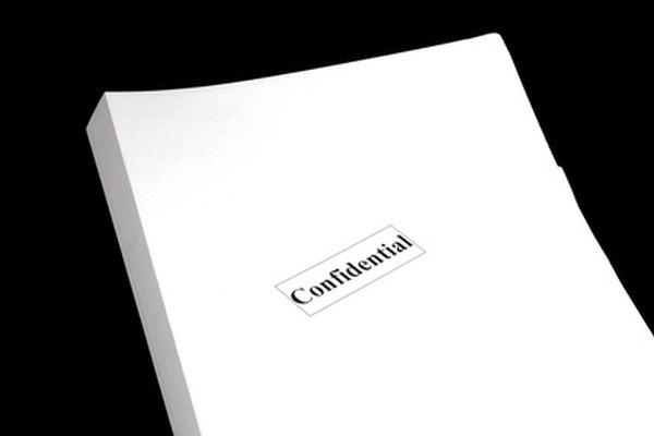 Revisa cuidadosamente los términos y condiciones para cualquier tipo de acuerdo de confidencialidad antes de firmarlo.