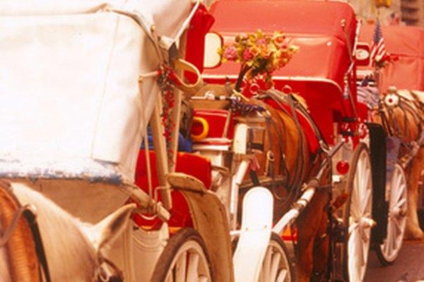 La silla de posta era un carruaje elegante.