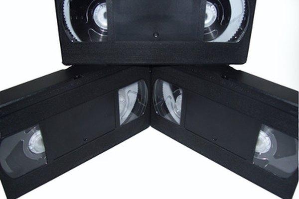 Los video cassettes vienen en diferentes formatos.