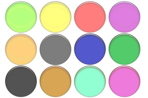 Corta formas redondas de vidrio de varias formas.
