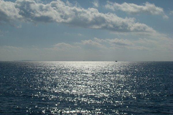 Los océanos son las más grandes masas de agua salada.