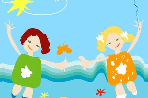 Los niños tienen un sin fin de entretenimiento hoy en día, pero los juegos tradicionales permiten continuar las viejas actividades.