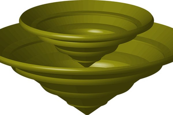 Una bomba centrífuga utiliza fuerza circular para mover un líquido.
