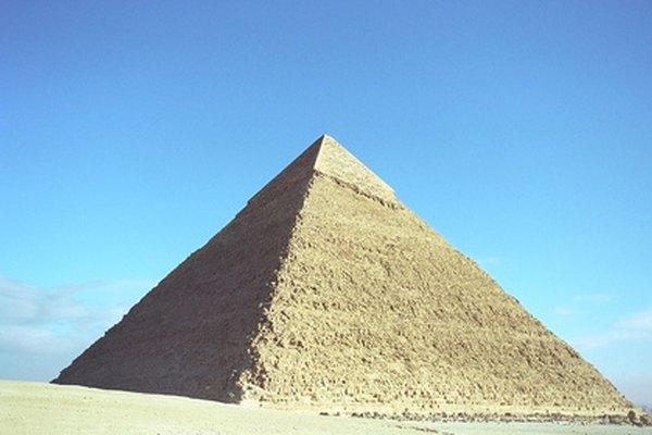 La medición del volumen de una pirámide era esencial para los antiguos arquitectos egipcios.