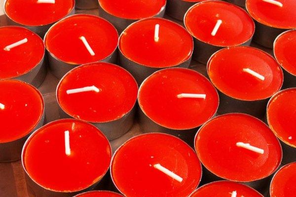 Cómo agregar color y aroma a tus velas.