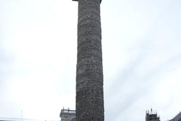 Columna funeraria del emperador Trajano.
