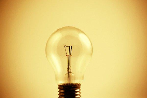 Las bombillas de luz existen en diferentes formas y tamaños.
