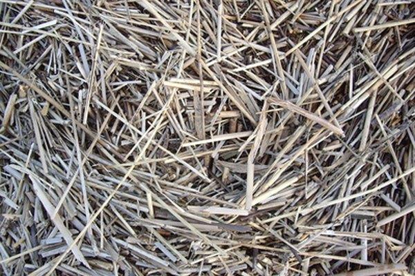La paja (usada para relleno, embalaje y aislamiento) sustituye con seguridad a las bolitas de poliestireno.