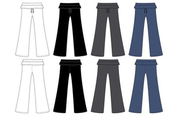 Puedes alterar fácilmente tus pantalones.