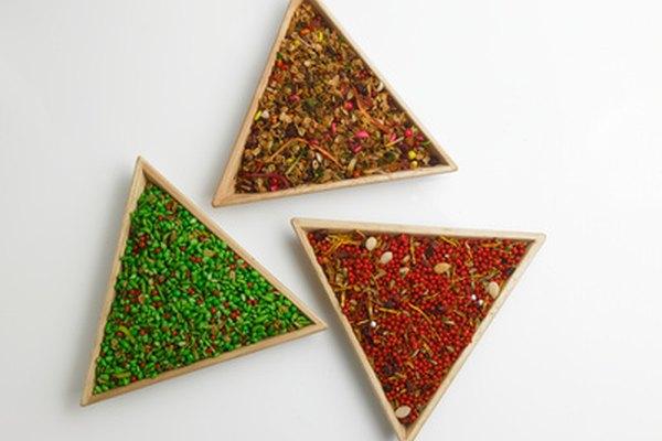 Triángulos en el mundo.