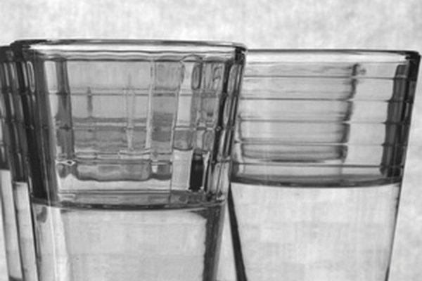 Mezcla de alcohol y agua.