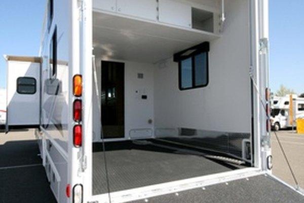 Una casa rodante (RV).