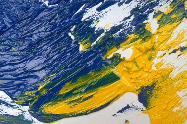Pintar al óleo es un proceso lento pero gratificante.