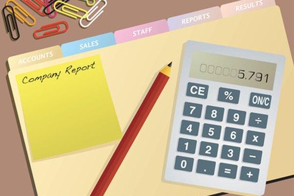 Cada trimestre, los contadores compilan los estados financieros.
