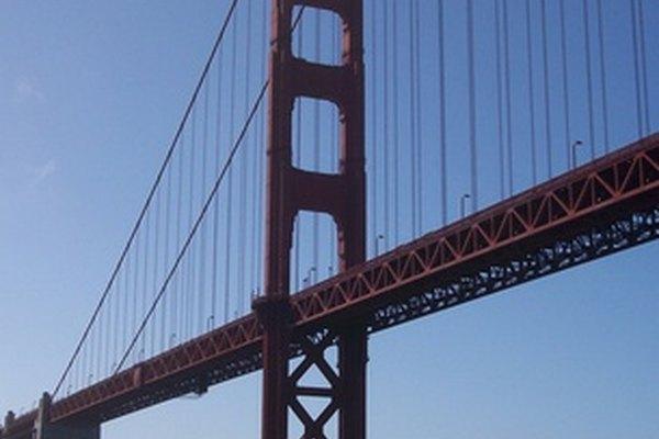 El puente Golden Gate, un lugar muy conocido en San Francisco.