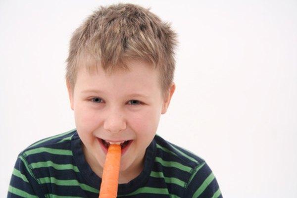 Las zanahorias son una excelente fuente de las vitaminas K y A.