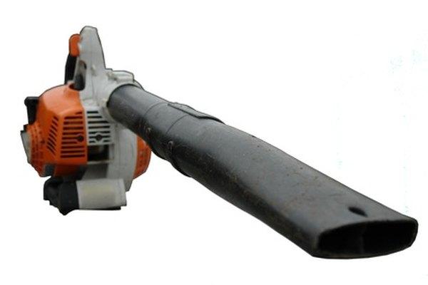 Los sopladores de hoja también utilizan ventiladores centrífugos soplantes.