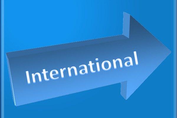 El marketing internacional es una dirección en la que están yendo muchas empresas de Estados Unidos.