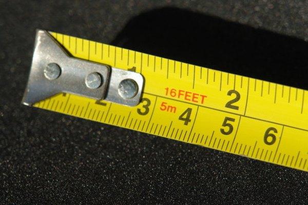 Necesitarás una cinta métrica para medir.