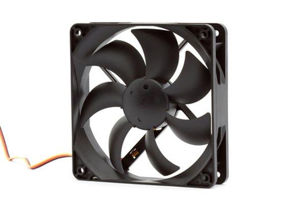 Un ventilador de computadora puede ser modificado para ser portátil.